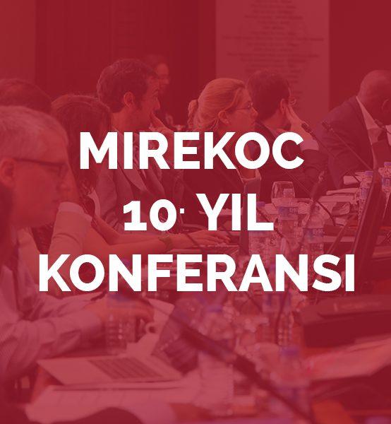 """MiReKoc 10. Yıl Konferansı """"Sınır, Hareketlilik ve Çeşitlilik: Eski Sorular, Yeni Meseleler"""""""