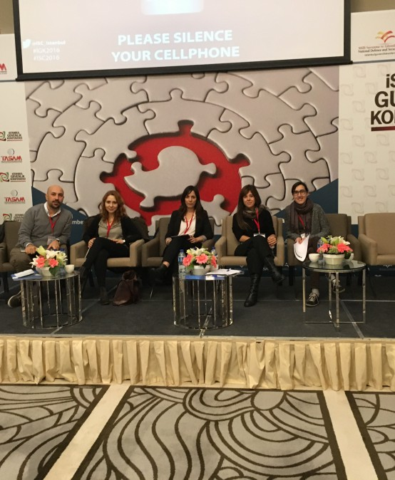 "TASAM Istanbul Security Conference, MiReKoc Panel on ""Migration Towards Turkey on Axis of Human Security, Border Security, National Security"""