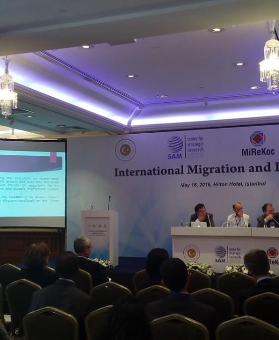 """MiReKoc & Stratejik Araştırmalar Merkezi  """"Uluslararası Göç ve Diplomasi Konferansı"""""""