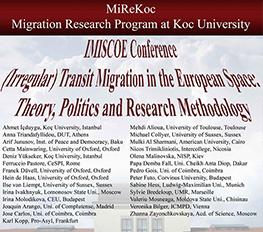 MiReKoc-Oxford Üniversitesi Konferansı Avrupa'da (Düzensiz) Transit Göç: Teori, Politika ve Araştırma Yöntemleri