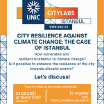 UNIC Pop-Up CityLabs – CITY RESILIENCE AGAINST CLIMATE CHANGE: THE CASE OF ISTANBUL